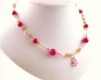 Medium Girls Necklace, GNM 102, Sterling Silver