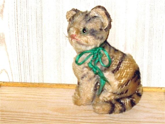 """Vintage Rare Steiff Mohair Cat """"Susi"""""""