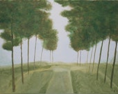 The Drive Home 24x18 Original Painting