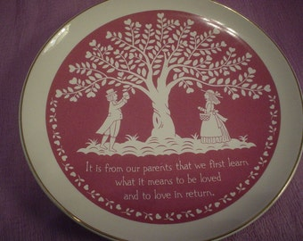 Vintage Collectiable Plate