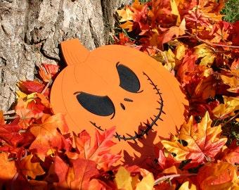Jack Skellington Halloween Pumpkin Head - Wall Decor