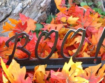 Halloween Boo - Word Decoration