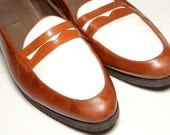 Two tone Loafer Size 8