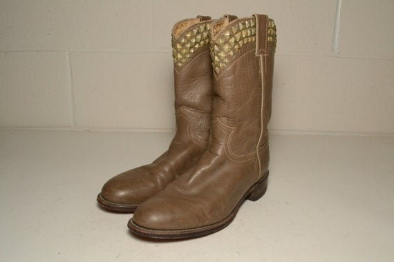 Size 9 Studded Boots