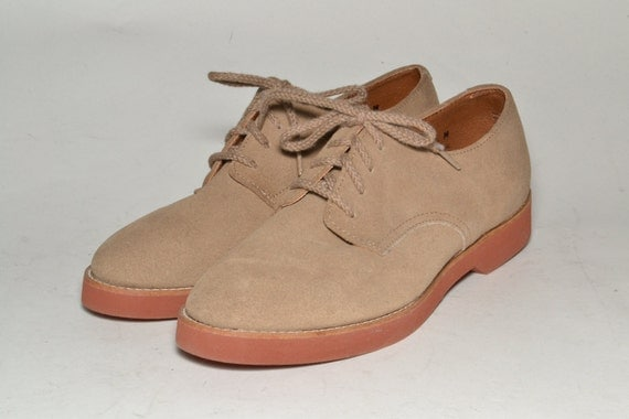 Women's Suede Oxford  6