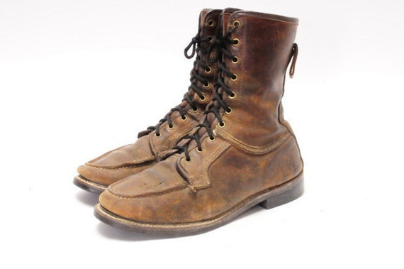 1950s Size 10.5 D Work Boot Mens