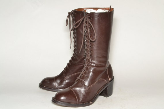 Lace Boots Woman Size 6.5