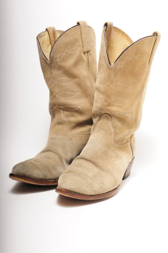cowboy boots s j chisholm size 11 5 by