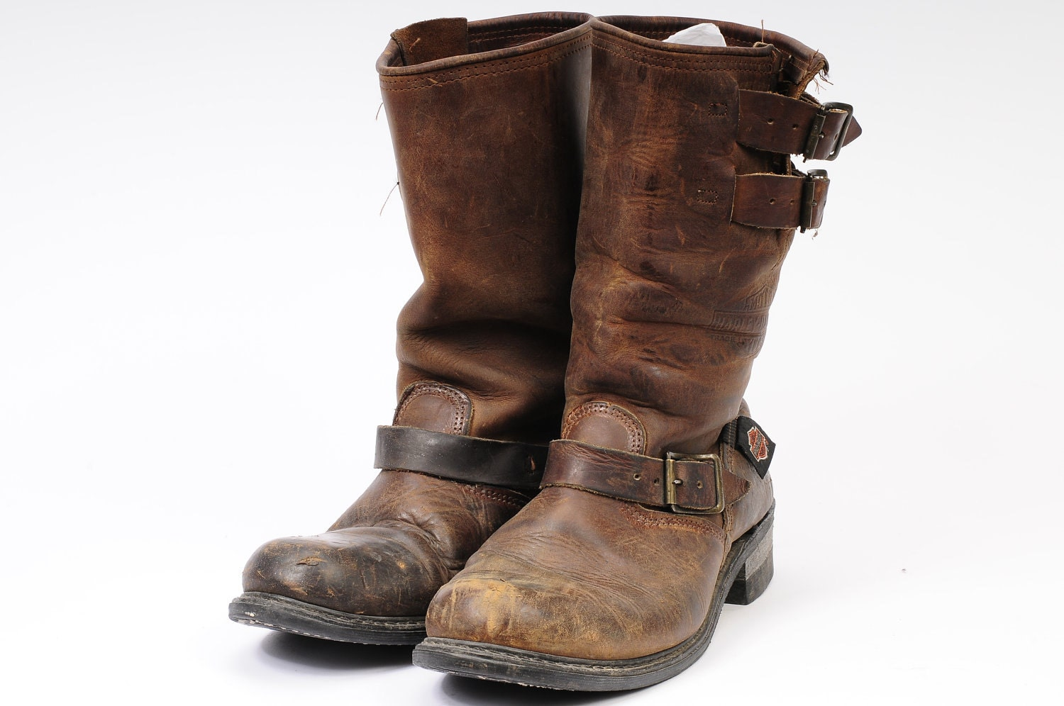 harley davidson size 9 engineer boot brown motorcycle boot