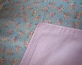 Floral Flannel Blanket