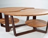 """2 """"Ying Yang Yong"""" Coffee Occasional Tables"""