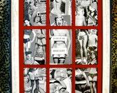 Vintage Pinup Girl Frame