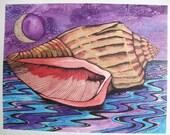 Ebbing Tide - notecard