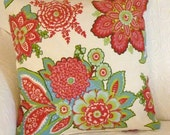 Pair of Annie Selke pillow covers in Shalini,  18 x 18