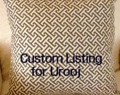custom order for urooj