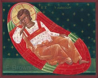Jesus Christ, the Unsleeping Eye - sacred icon