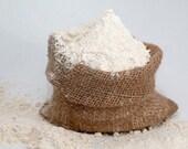 Organic  Brown Rice & Oat Bran Facial Scrub Exfoliant