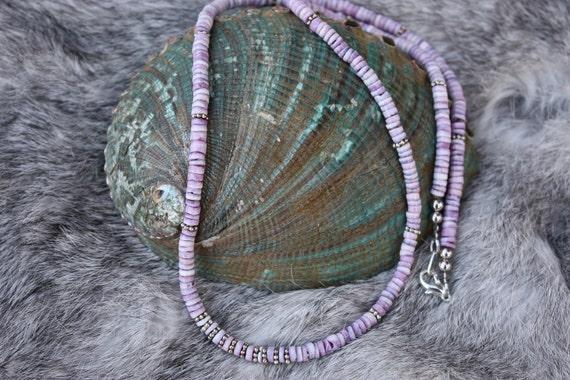 Cebu Beauty Shell Necklace Native American Inspired Necklace