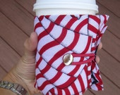 Stars and Stripes drink buddy - a reusable sleeve for your can, bottle or coffee cup