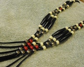 Tribal Styled Slip-On Necklace Casualness