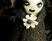 OOAK - Goth - Art doll - Leela Bo Bo