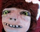 OOAK - Goth - Art doll - Henrietta