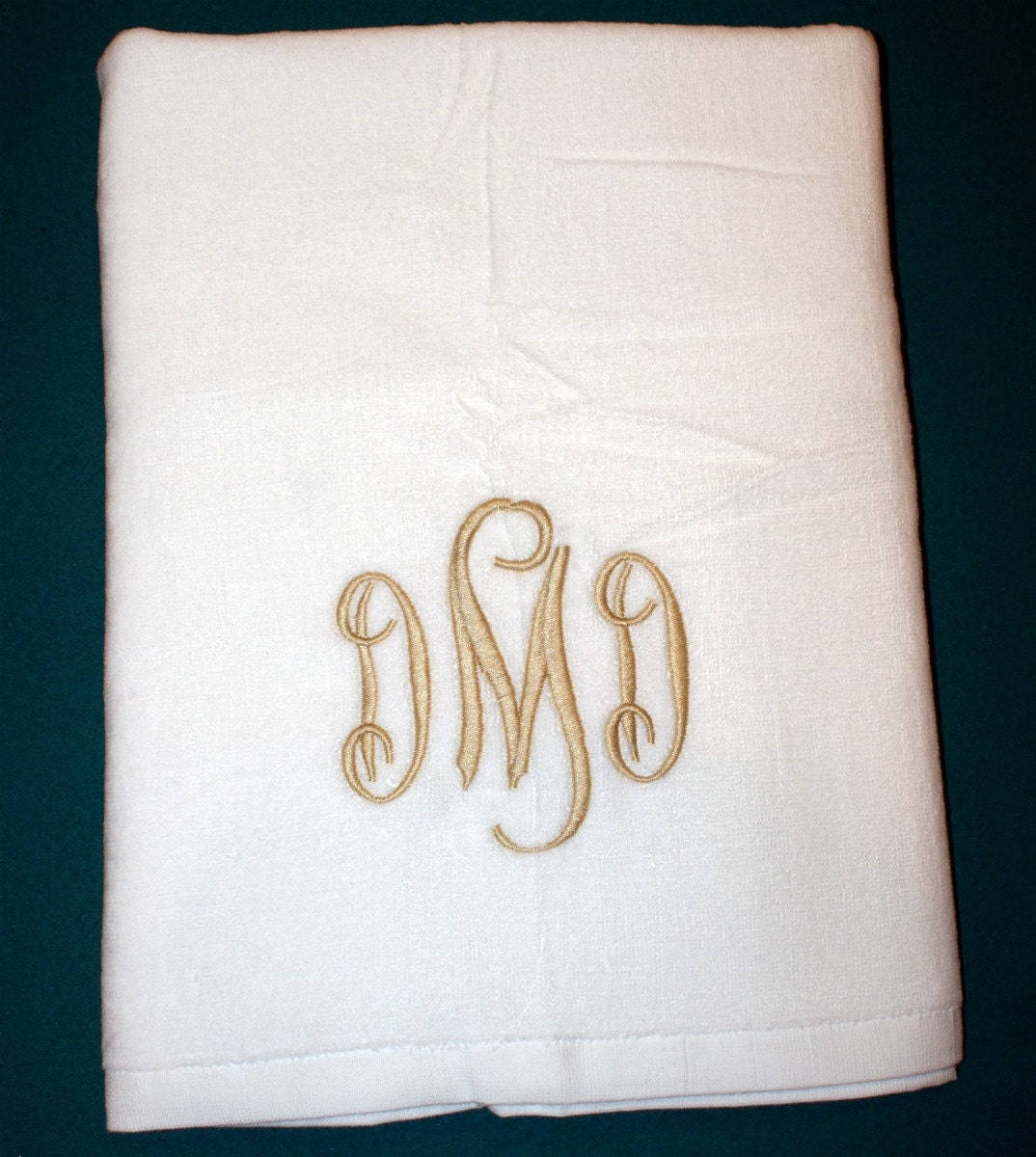 Monogrammed Beach Towel Pool Towel Monogram Gift