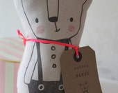 Soft padded 3D textile character