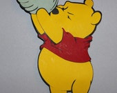 Winnie the Pooh and His Honey Die Cut