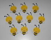 Bee Die Cut, Bee Embellishments