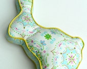 Bunny Pillow in Pastel Colors