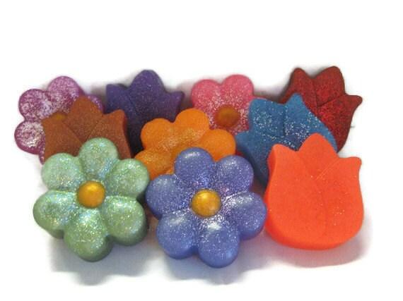 Pick a Flower Soap,  pick a fragrance, birthday gift, Mother's Day, teacher gift, grandmother gift, secretary day, nurse gift