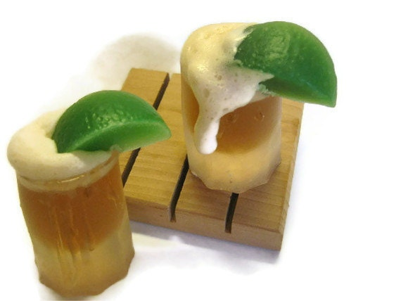 Lime Beer in Frosted Mug Soap, Beer, Lime, beer, Father's Day, beer shot, beer mug, happy hour