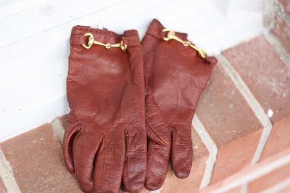 Vintage Driving Gloves made for Bloomingdales