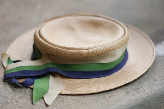 Sweetest Ribbon Trimmed Country Fair Hat