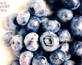 Fine Art Food Photography Print - Sweet Summer Blueberries No. 2