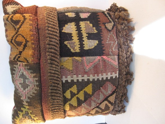 Kilim Rug Pillow With Insert