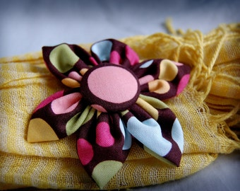 SALE* Fabric Flower Pattern Tutorial Digital PDF Download -- Make Your Own