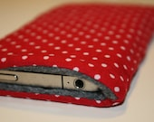 iCozy - iPhone Case - Red and white polka dot