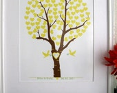 Personalized Wedding Tree - Add couples name and date