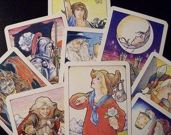 Three card spread tarot reading