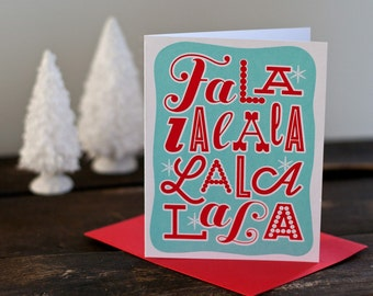 Falala Holiday Card