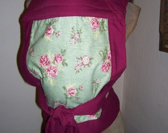 Mei tai styled baby carrier Amazingly comfortable, reversible, reinforced OOAK in western theme