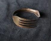 Copper Rainbow Fork Bracelet