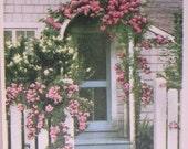 When Roses Bloom, Nantucket Post Card, H. Marshall Gardiner.