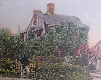 Boone House on Union St, Nantucket Post Card, H. Marshall Gardiner.