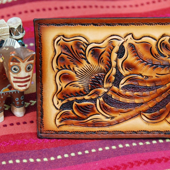 Hand Tooled Bifold Wallet