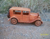 1929 Ford Town Sedan Car Vintage Collectible