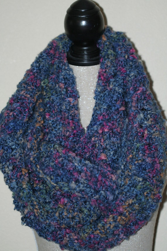 CLEARANCE SALE - Extra Large Victoria Scoop Cowl - Neck Warmer - Blue/Red/Green/Gold - Adults/Teens -Ready To Ship - Handmade & Crocheted