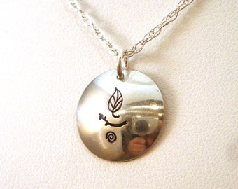 Nature UU Chalice in Sterling Silver
